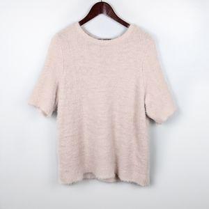 LOFT | Super Soft Blush Pink Short Sleeve Top